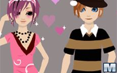 Little Couple Dressup