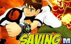 Ben 10 - Saving Sparksville